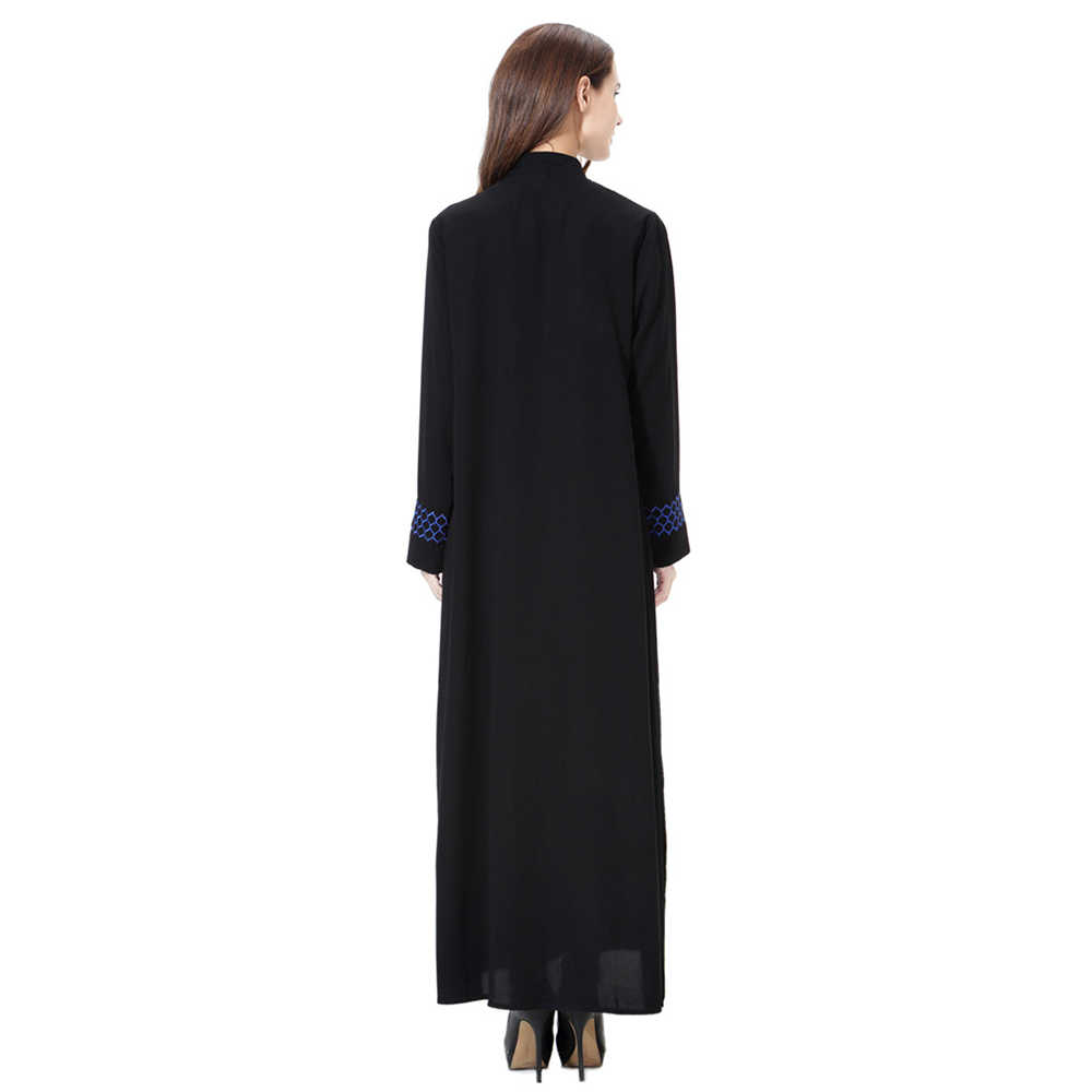 Abaya 드레스 이슬람 여자 여자 긴 소매 아랍 maxi abaya jalabiya 이슬람 드레스 의류 중동 가운 kaftan