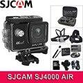 Original SJCAM Câmera Ação 4 SJ4000 AR K WiFi Deportiva 2.0 polegada Tela de LCD 30m Habitação À Prova D' Água Mini Capacete câmera esporte