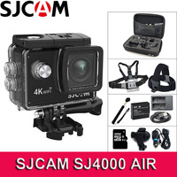 Original SJCAM SJ4000 AIR Action Camera 4K WiFi Deportiva 2.0 inch LCD Screen 30m Waterproof Housing Mini Helmet Sport Camera