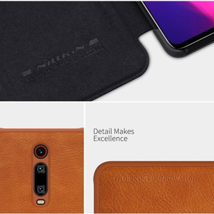 Image 5 - حافظة هاتف Redmi K30 Pro K30Pro K30S NILLKIN Qin أغلفة جلدية لهاتف شاومي بوكو X2 F2 Pro X3 NFC Funda جراب Mi 10T Pro Coque