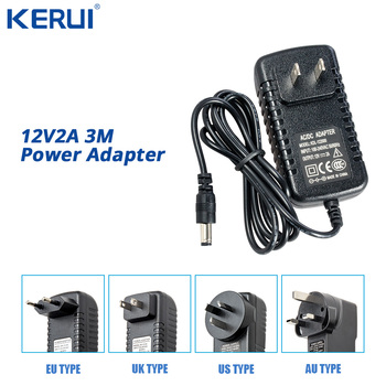 3M 12V2A Power Supply AC/ DC Power Adapter For Security CCTV Camera System NVR DVR Converter US/ EU/ UK/ AU Plug Charger liitokala 3s 12 6v 5a charger power supply adapter 12v lithium battery pack li ion batterites eu us au uk ac dc plug converter