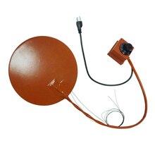 280*280 мм силиконовый резиновый нагреватель с 100K термистором и шкалой термостата