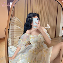 Vestido de Mujer Sukienka Vintage Cotagecore estetyczne słodkie Harajuku Kawaii Sexy różowe sukienki kobiety letnia Sukienka Vestidos