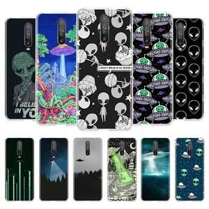 Чехол из ТПУ Alien UFO для Xiaomi Mi Note 10 Pro 5G 9T 9 CC9 A3 Poco F2 X2 A2 Lite 6X 5X, чехлы для телефонов