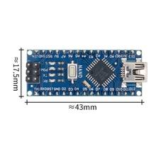 50PCS ננו 3.0 בקר תואם עם ננו CH340 USB נהג לא כבל ננו V3.0