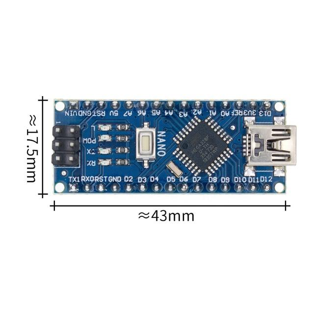 50PCS Nano 3.0 controller compatible with  nano CH340 USB driver NO CABLE NANO V3.0