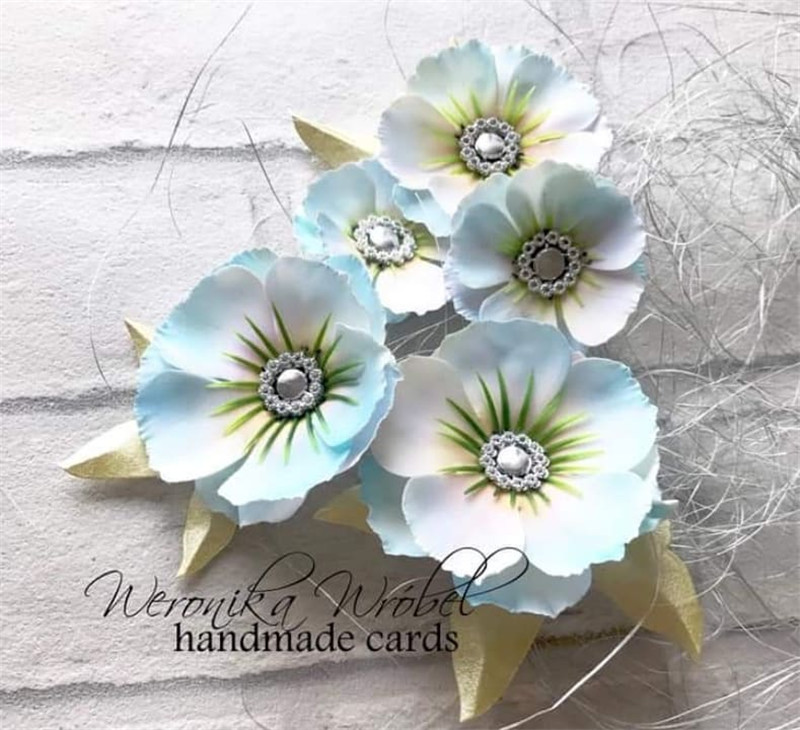 YaMinSanNiO 1 Pcs/lot Metal Cutting Dies Scrapbooking For Card Making DIY Embossing Cuts New Craft Dies Flowers Decoration