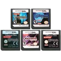 DS משחק מחסנית קונסולת כרטיס Castlevania סדרת אנגלית שפה עבור Nintendo DS 3DS 2DS