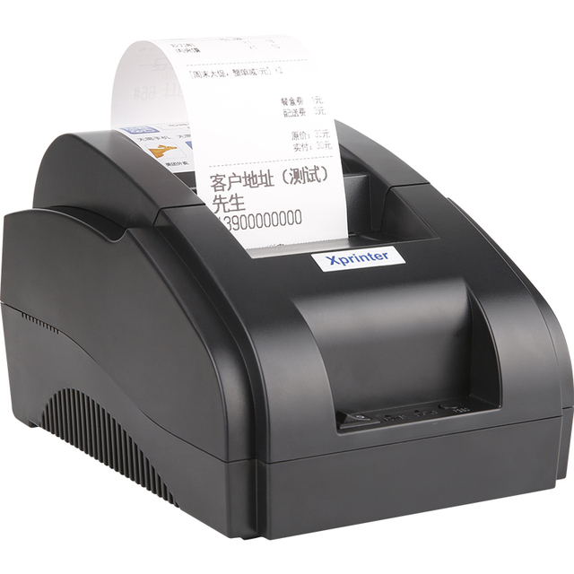 Xprinter POS 58 USB & USB + Bluetooth for Android and IOS 58mm Thermal Small Ticket Printer Bill Machine 6