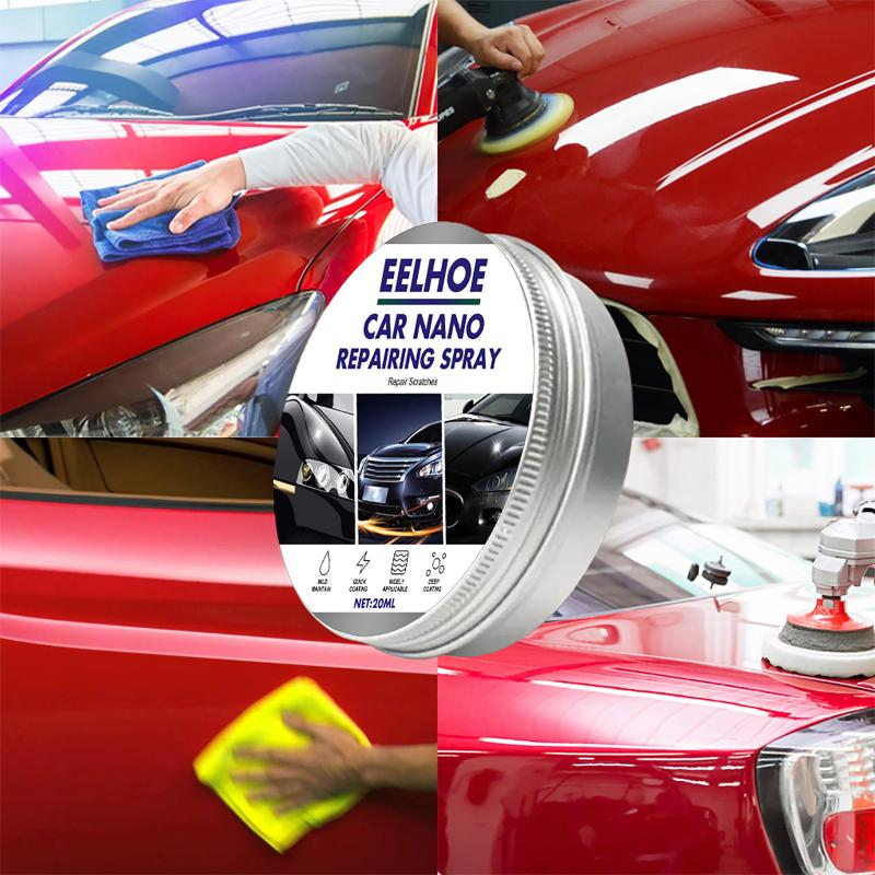 Car Wax Crystal Plating Set Hard Wax Layer Glossy Surface Coating Covering Paint Automotive Scratch Repair Paste Car Maintence