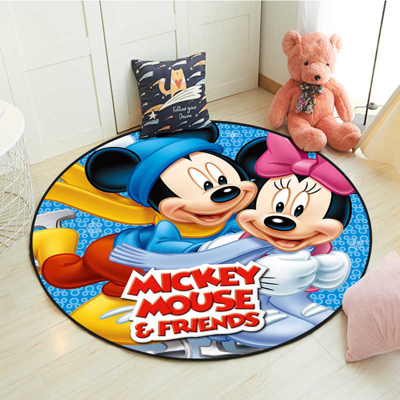 Carpet Children Like Living Room Games Baby Bedroom Crawling Rugs Personality Cartoon Spiderman Print Rectangle Decoration 80cm*120cm