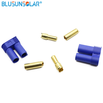 100 pair 1 Male/1 Female Connector 2 Male / 2 Female EC5 Bullet Connector banana Plug With Housing For RC Lipo Battery