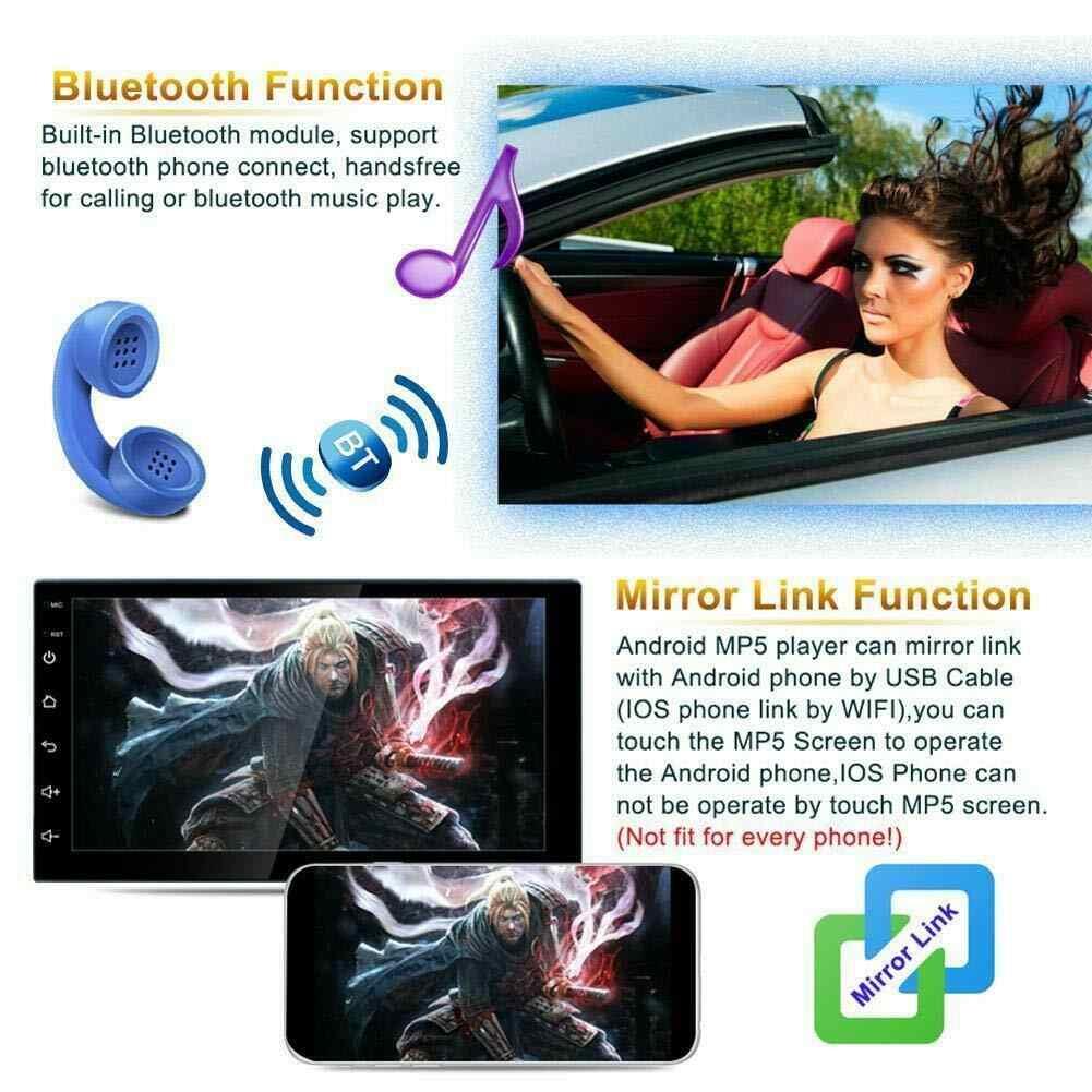 2 Din Android 8.1 araba radyo multimedya Video oynatıcı evrensel otomatik Stereo GPS harita için Volkswagen Nissan Hyundai Kia toyota CR-V