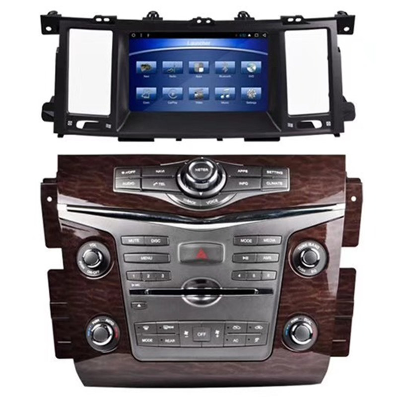"""8 """"Android coche Multimedia DVD GPS navegación unidad Autoradio unidad principal para Nissan patrulla 2013, 2014, 2015, 2016, 2017, 2018, 2019"""
