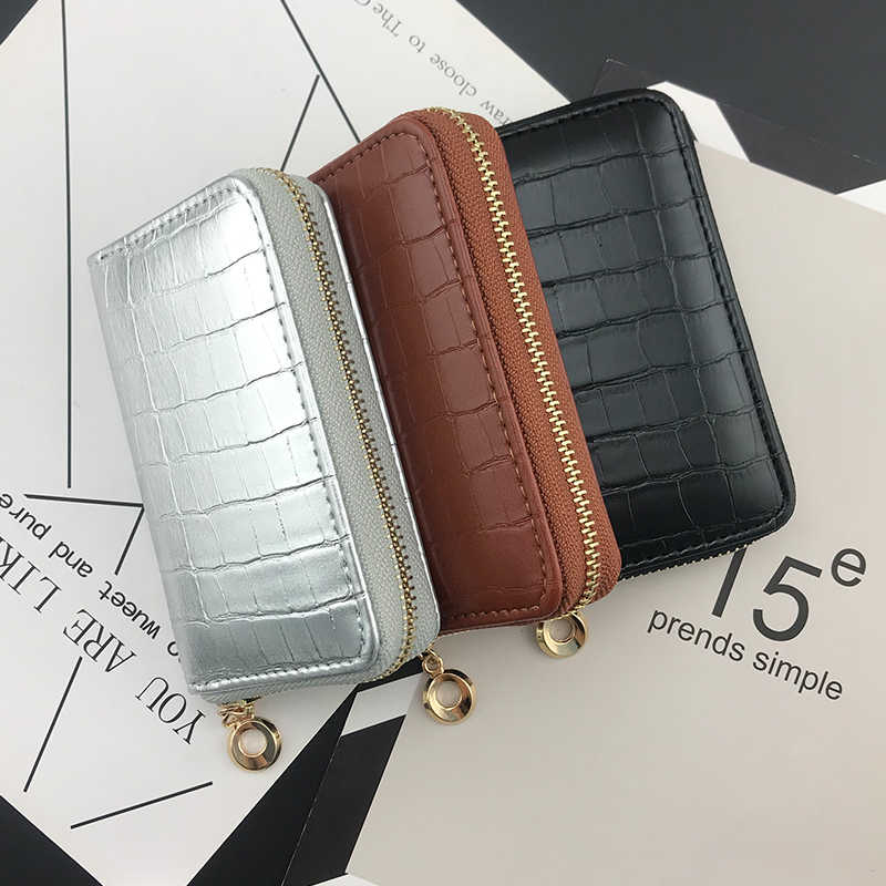 NICOLE & CO 2019 Winter new short Purse PU Leather Women Wallets Fashion Cards Holders Slim Coin Pocket Purse Money Bag hot