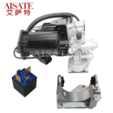 Air Suspension Compressor Pump relay & Mount Bracket for Land Rover Range Discovery 3 LR3 LR4 Sport Airmatic