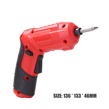Practical USB Rechargeable Multi-function Maintenance Tool Handheld Electric Screwdriver Drill for Woodworking Hole Drilling