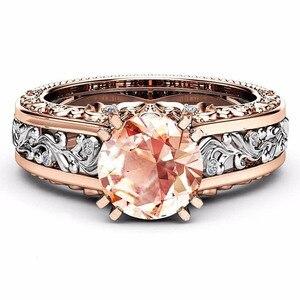 Image 3 - Rbnyd nova moda senhoras anel de cristal zircon europa e américa moda acessórios senhoras casamento noivado presente natal