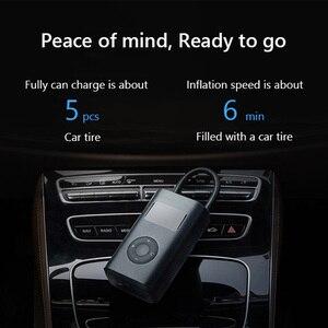Image 5 - شاومي Mijia الكهربائية نافخة مضخة الذكية الرقمية ضغط الإطارات كشف سيارة ضاغط الهواء ل سكوتر دراجة نارية سيارة