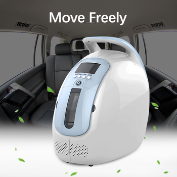 1 6l min portable oxygen concentrator home travel use generator no battery air purifier for home with handle 24 hours working 1-6L/min Portable Oxygen Concentrator Home Travel Use Generator No Battery Air Purifier for Home With Handle 24 Hours Working