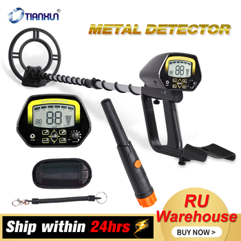 TIANXUN Metal Detector High Accuracy Adjustable Waterproof Search Coil Metal Detectors With LCD Display For Adults & Kids professional search coil md4030 metal detector search coil metal detector accessories metal finder search coil