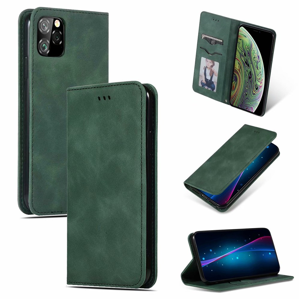 Luxury Leather Flip Wallet Case for iPhone 11/11 Pro/11 Pro Max 14