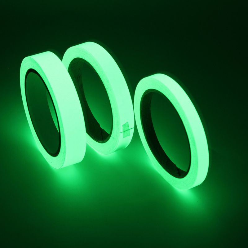 Luminous Fluorescent Night Self-adhesive Glow In The Dark Sticker Tape Safety Security Home Decoration Warning Tape