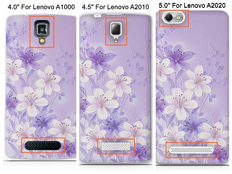Capa Untuk Lenovo A6000 A6010 Kasus Penutup 3D Lucu Lembut TPU - Aksesori dan suku cadang ponsel - Foto 2