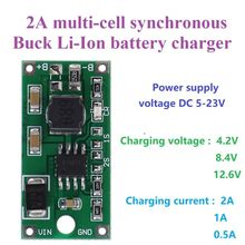 Battery-Charger Multi-Cell Lithium 18650 Voltage-Reduction No for 5-23V Synchronous DC