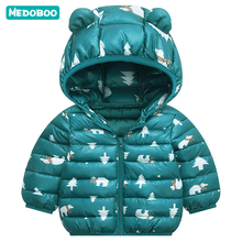 Medoboo Thick Warm Baby Clothes Winter Jumpsuit for a Boy Girl Newborns Snowsuit Coveralls Overalls Children Jacket Coat