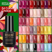 ROSALIND Gel Polnisch Rot Nackt Serie Polieren Alle Für Maniküre Nägel Kunst Semi Permanent Gel UV LED Soff Off Hybrid lacke