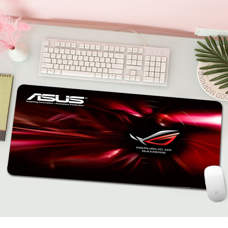 Top Quality ASUS Locking Edge Mouse Pad Game Free Shipping Large Mouse Pad Keyboards Mat
