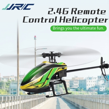 JJRC M05 RC Helicopter 2.4GHz 4 Channel 6-Axis Gyro Stabilizer Altitude Hold Helicopter for Indoor to Fly for Kids and Beginners 2