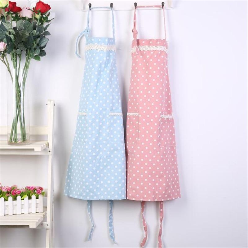 New Hot Fashion Lady Women Men Adjustable Cotton Linen High grade Kitchen Apron For Cooking Baking Restaurant Apron|Aprons|   - title=