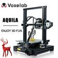 Voxelab Aquila DIY 3D Printer Kit Resume Power Failure Printing Masks Large Size Upgrade 3D Printer With Filament Freeship New