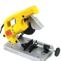 Mini Table Cutter Metal Wood Saw Machine Handheld Steel Electric Cutting Tools Woodworking Miter Saw JS QG1