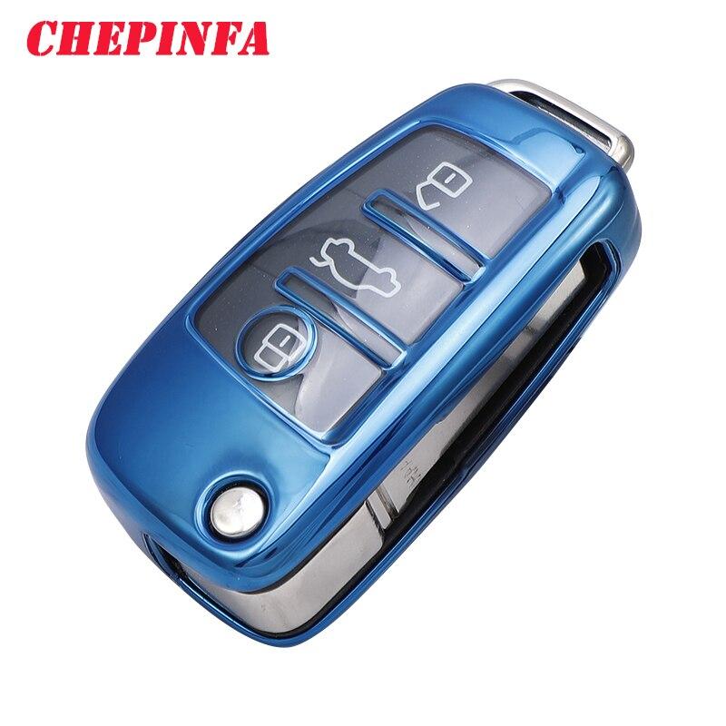 ТПУ чехол для автомобильного ключа полное покрытие защитный