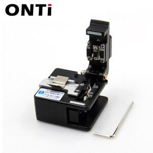 Image 5 - ONTi Fiber Cleaver Optical FUSIONสายตัดมีดFTTH SINGLE MODEโลหะไฟเบอร์ออปติกเครื่องมือเครื่องตัดความแม่นยำสูงCleaver