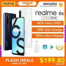 Realme 6 6 s 6 6 s Global versión 6GB 128GB Helio G90T 6,5