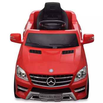 VidaX سيارة كهربائية 6 فولت مع جهاز التحكم عن بعد مرسيدس ML350 الأحمر للأطفال الحاضر