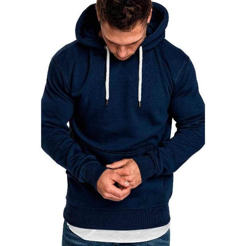 2020 새로운 가을 겨울 패션 솔리드 후드 남성 대형 따뜻한 양털 코트 남성 브랜드 캐주얼 셔츠 후드