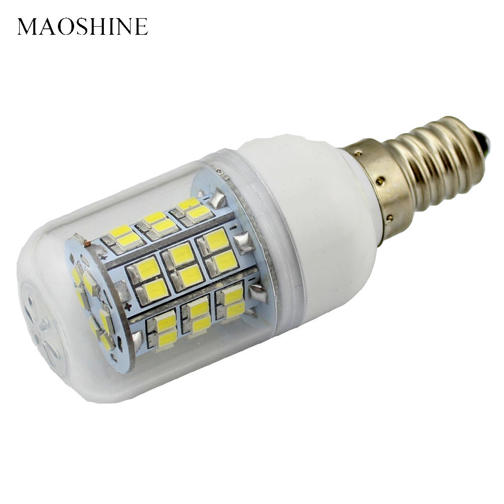 5Pcs E14 LED Lamp 220V 110V Corn Bulb 12V - 24V DC AC Warm Cold White SMD 2835 Energy Saving Light