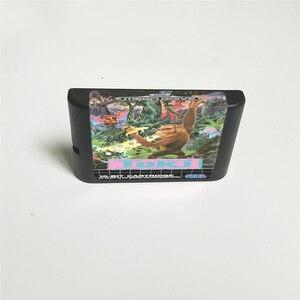 Image 2 - Toki Going Ape Spit funda EUR con caja tarjeta de juego de 16 bits MD para consola Megadrive Genesis