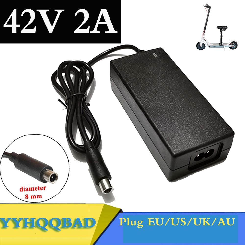 42V 2A Scooter charger Battery Charger Power Supply Adapters Use For Xiaomi Mijia M365 Electric Scooter Skateboard Accessories