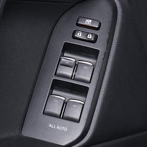 Image 1 - Glass Lifting Switch Sequins for Toyota Land Cruiser Prado FJ150 FJ200 Corolla RAV 4 Camry Accessories 7PCS/set