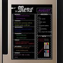 Магнитный холодильник доске еженедельно меню еды планировщик