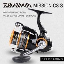100% Originele Daiwa Missie Cs Spinning Visserij-reel 2000S 2500S 3000S 4000S Gear Ratio5.3:1 3 + 1BB Slepen Power 2 ~ 6Kg Vissen Reel