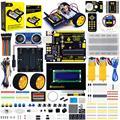 Keyestudio Ultimate Starter Kit/автомобильный комплект роботов с подарочной коробкой для маленького изобретателя (Обучающий робот Arduino на нулевой основе)
