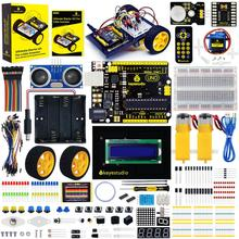 Keyestudio Ultimate Starter Kit /Robot Car Kit W/Gift Box For Little Inventor (Zero-based Learning Arduino Robot) цена