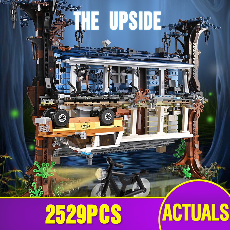 Lepining 25010 Creative Toys Compatible With 75810 The Upside Down Building Blocks Bricks Kids Christmas Gifts Assembly Toys Kit
